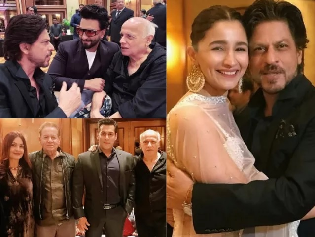 Bollywood Stars in Mukesh Bhatt Daughters Marriage