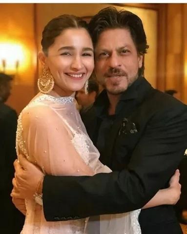 Shahrukh Khan And Alia Bhatt