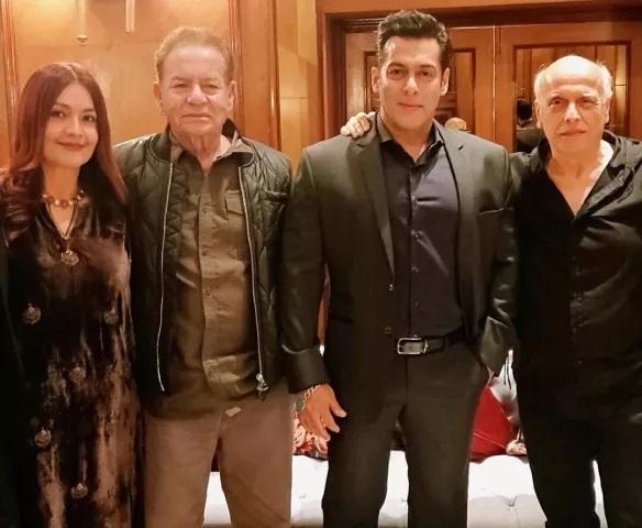 Salman Khan Pooja Bhatt And Mahesh Bhatt