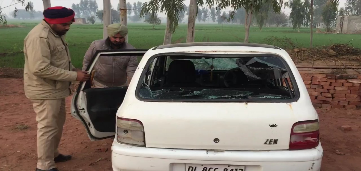 people beaten drug trafficker in faridkot village