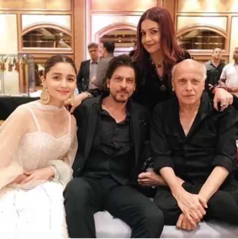 Shahrukh Khan Pooja Bhatt And Mahesh Bhatt