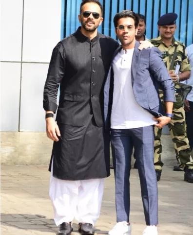 Rohit Shetty And Rajkumar Rao