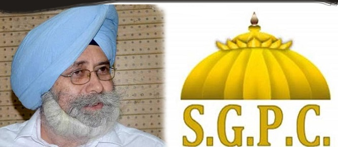 HS Phoolka on SGPC Group