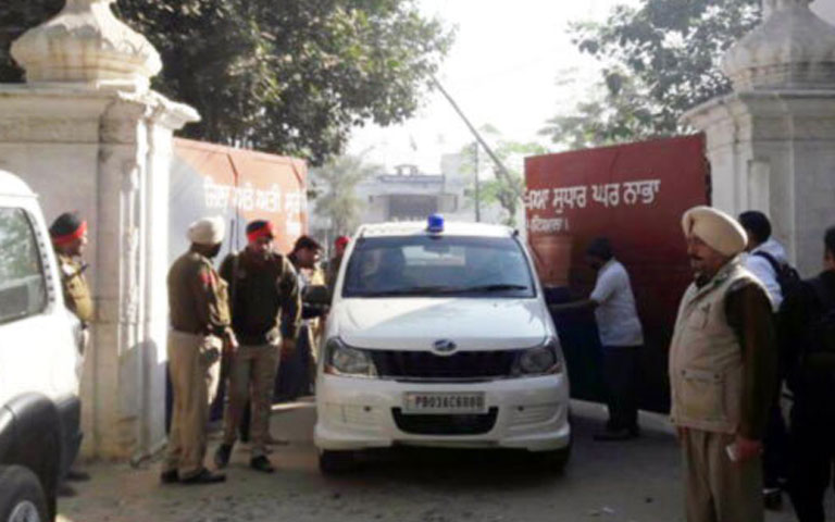 mobile phone siezed from nabha jail