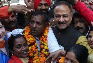 rajesh kalia became new mayor of chandigarh