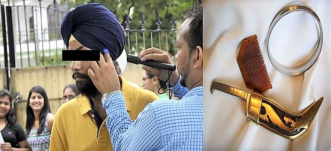 sikh candidates must allowed in examinition hall with their religios objects