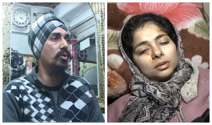 sikh model hardeep kaur beaten up by husband