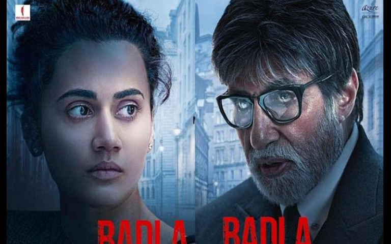 Amitabh And Tapsee In Badla