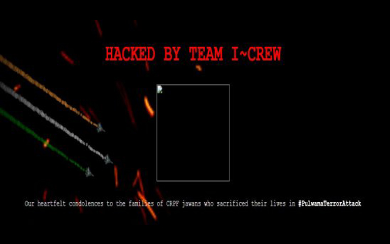 pakistan websites hacked by indian hackers