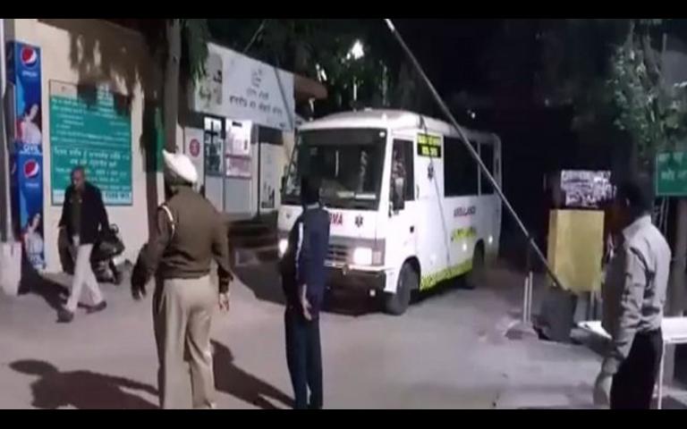 accident on pathankot jalandhar highway