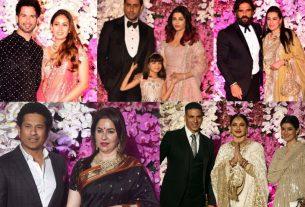 bollywood celebs at akash ambani wedding reception