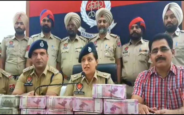 SP Ravjot Grewal on 1 crore cash seized in patiala