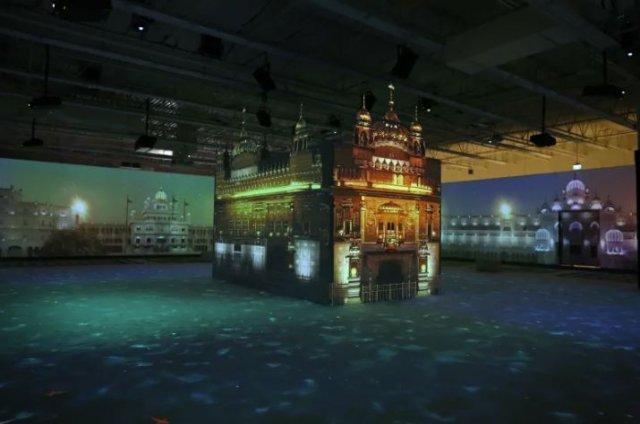 golden temple exhibition