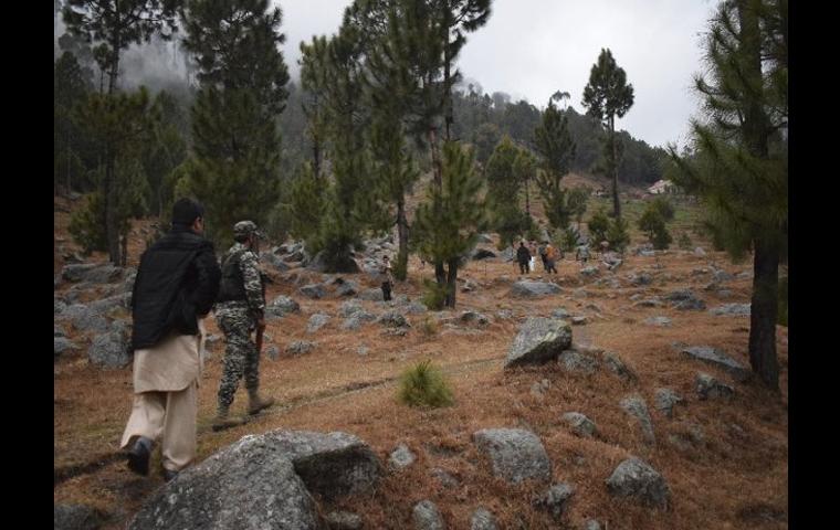 Jaish camp in Balakot in Pakistan