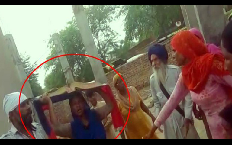 sacrilege of guru granth sahib