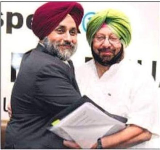 sukhbir and captain