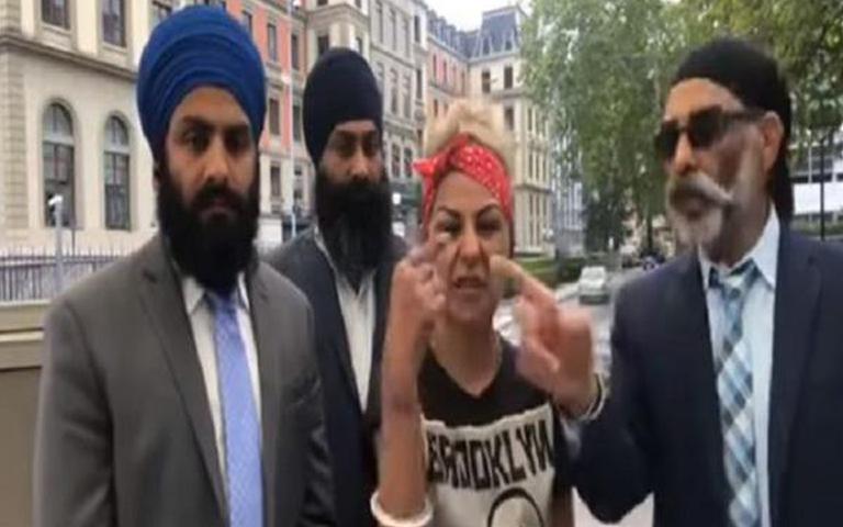 hard kaur khalistan leader