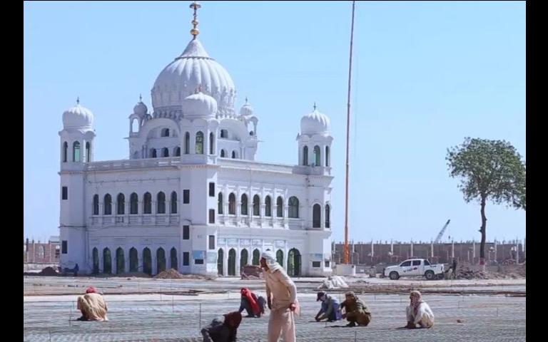 90 percent work of kartarpur corridor completed by pakistan