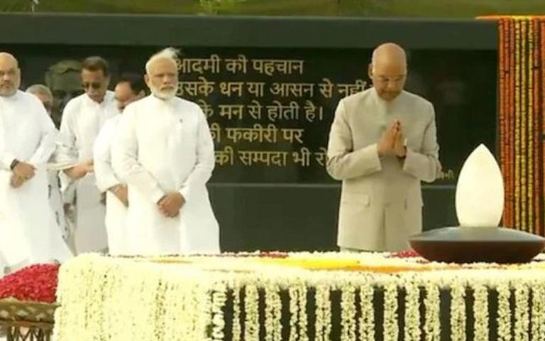 pm modi tribute to atal bihari vajpayee