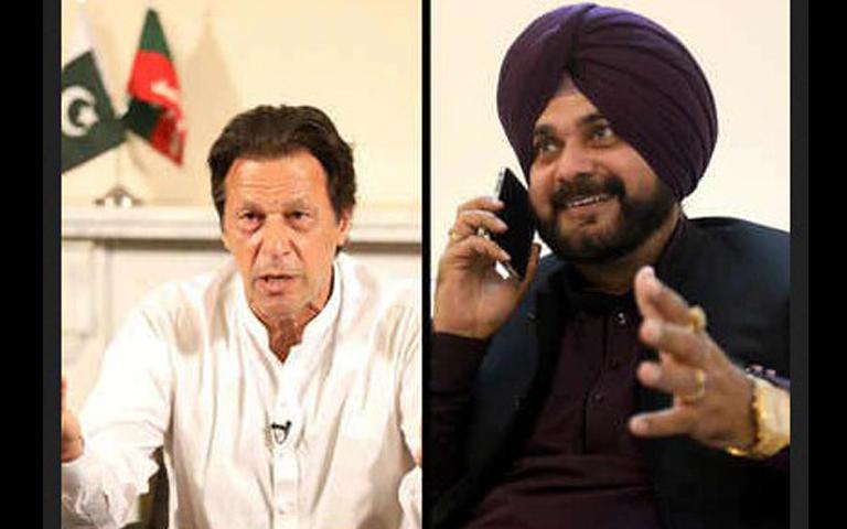 imran khan and navjot singh sidhu
