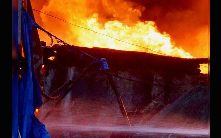 fire-in-the-spinning-mill-in-ludhiana