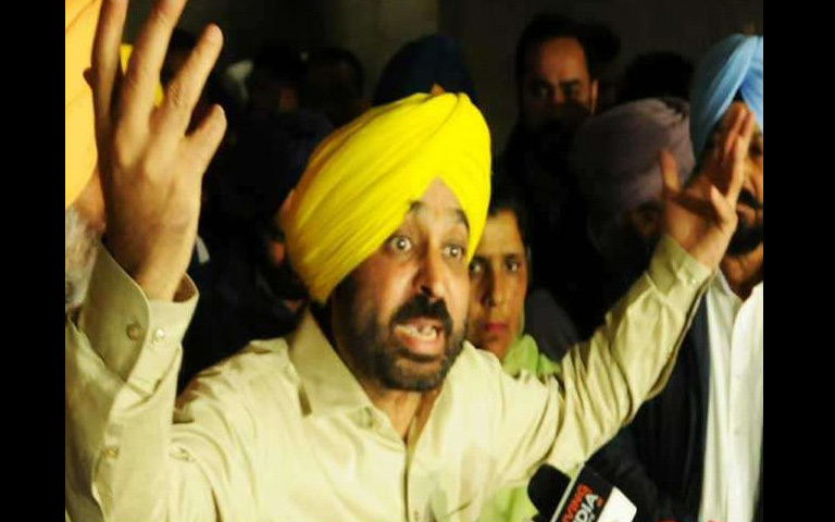 bhagwant-mann-attack-on-captain-amarinder-singh
