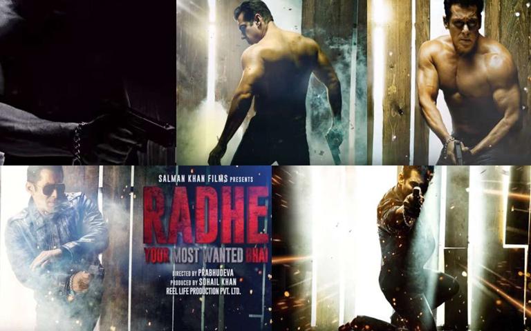 Salman Khan's Leaked Video From Radhe Movie Sets