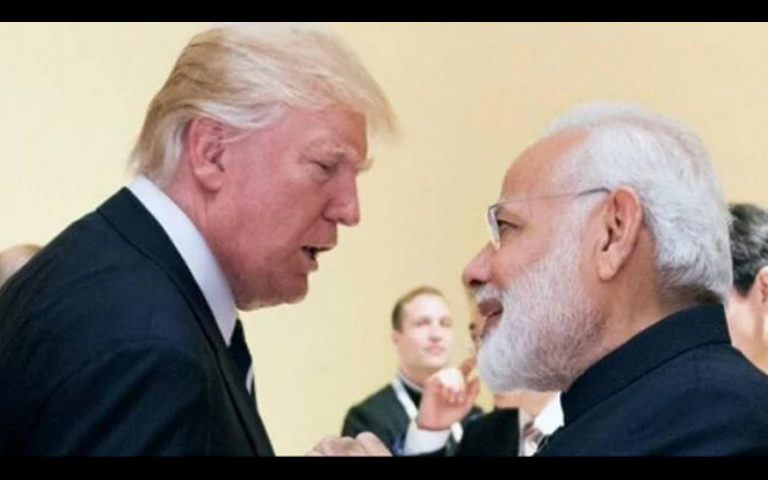 India Reply to Donald Trump Statement Against India