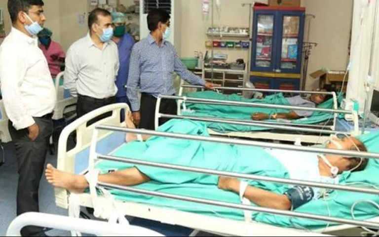 Another poisonous Gas Leaked accident in Chhattisgarh