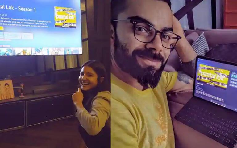 Virat Kohli review for Anushka after watching Paatal Lok