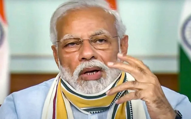 Pm Modi today talk about covid19 and self reliant Bharat