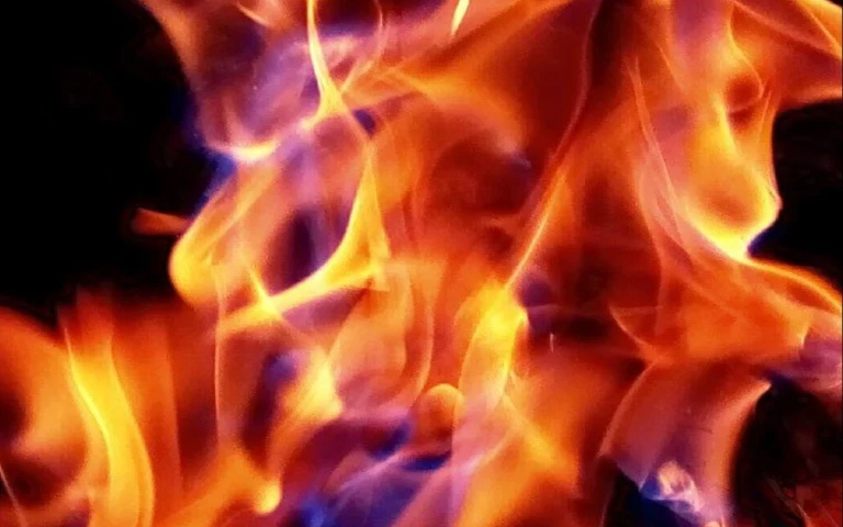 Woman dramatized her murder setting fire to the bones