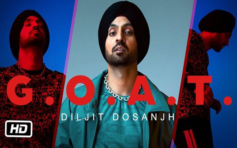 diljit-dosanjh-new-music-album-g-o-a-t-released