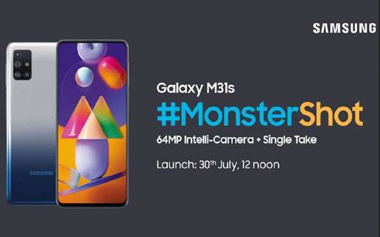 Samsung Galaxy M31 Launching On July 30 in India