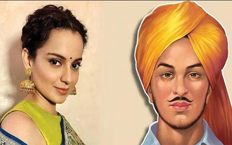 south-actor-compares-kangana-ranaut-to-bhagat-singh