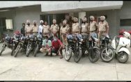Batala police arrested 2 thieves along with 9 Bikes and 1 Activa