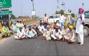 Farmers' organizations against govt after farmer's death