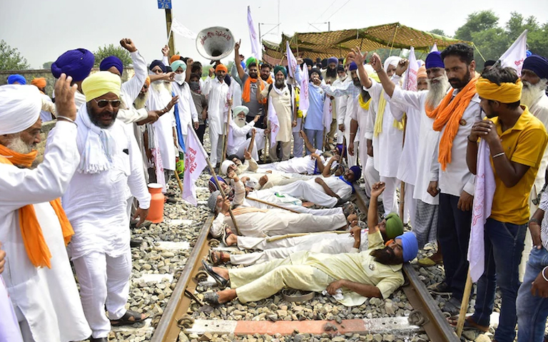 Farmers organizations to extend train jam till 29 sept