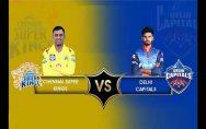 IPL 2020 Chennai Super Kings vs Delhi Capitals