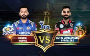 IPL match no. 10 will played between RCB and Mumbai