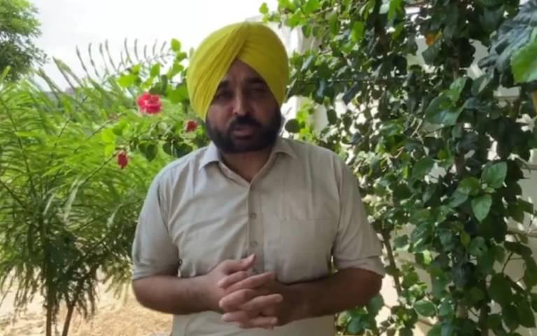 aap-punjab-leader-bhagwant-mann-on-prakash-singh-badal