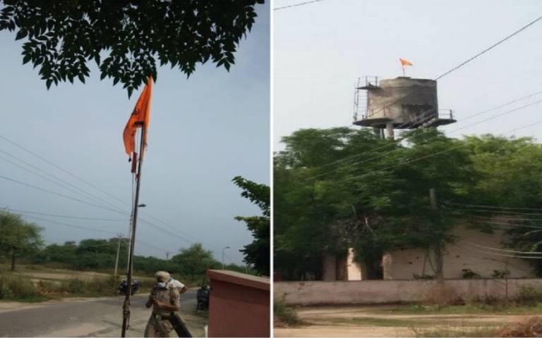khalistan-flag-hosted-at-ludhiana-tehsil-civil-hospital-raikot