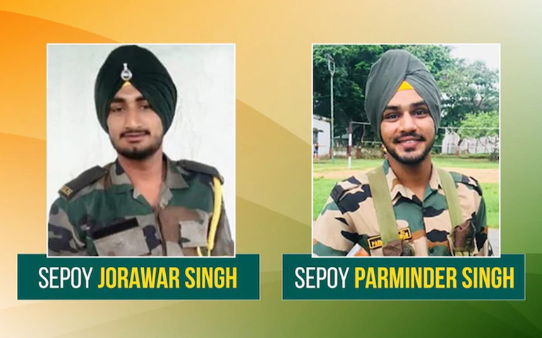 Punjab's Two Brave soldiers died during training session