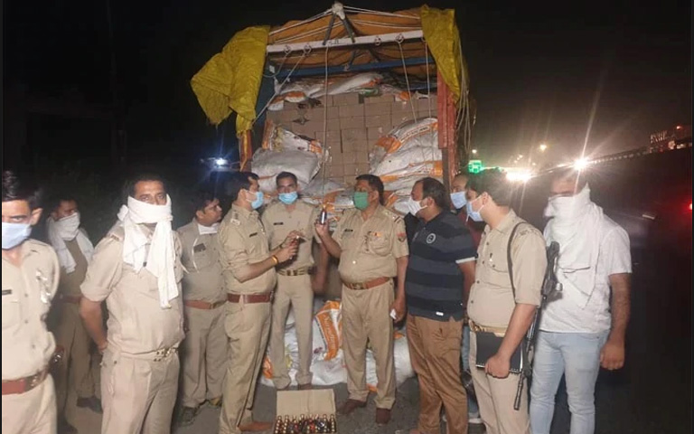 UP police seize illegal liquor worth Rs 63 lakh