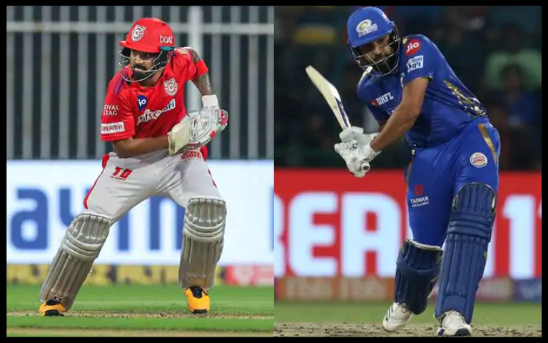 Kings XI Punjab VS Mumbai Indians.