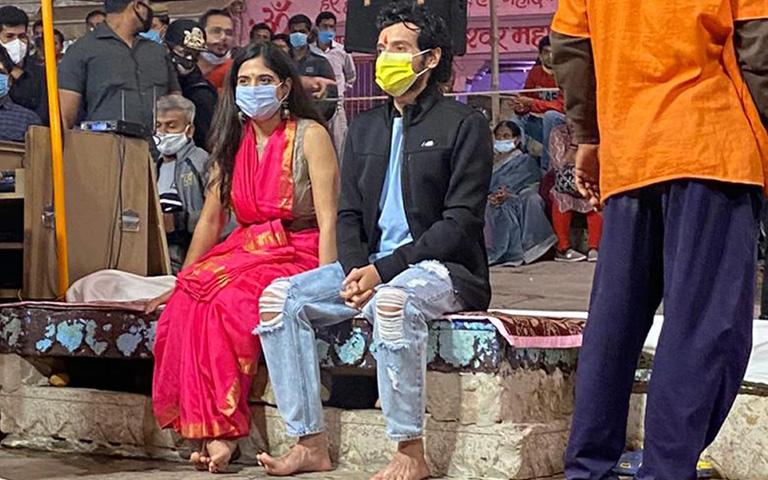 Bichoo Ka Khel Divyendu starts promotion from Banaras