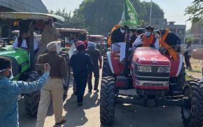 Punjab M.L.A travel to delhi