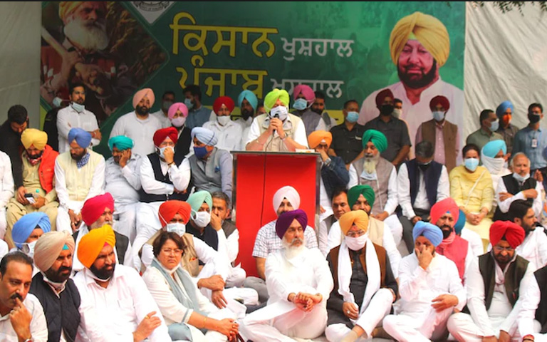 farmer issue will be resolved on Nov 21 says Punjab CM