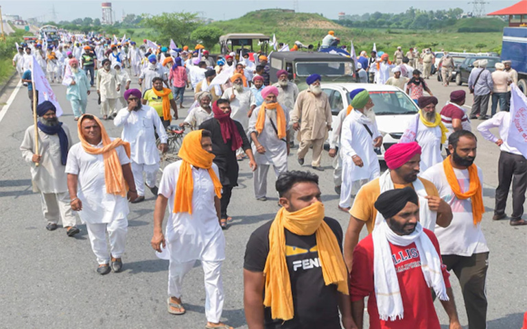 Not-only-the-farmers,-they-are-also-forced-to-hold-dharnas