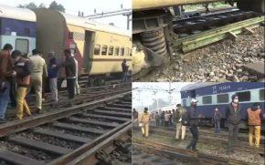 Amritsar-Jayanagar-Express-train-crashes,-two-coaches-derailed